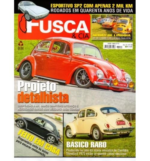 Revista Fusca & Cia N°109 Projeto Detalhista