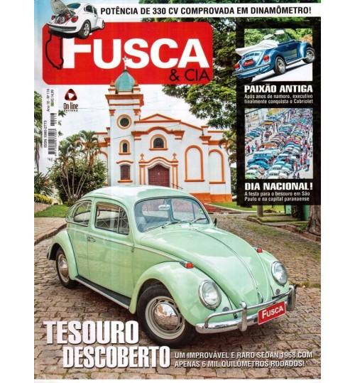 Revista Fusca & Cia N°116 Tesouro Descoberto