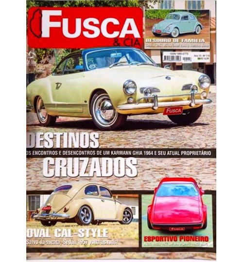 Revista Fusca & Cia N° 118 Destinos Cruzados