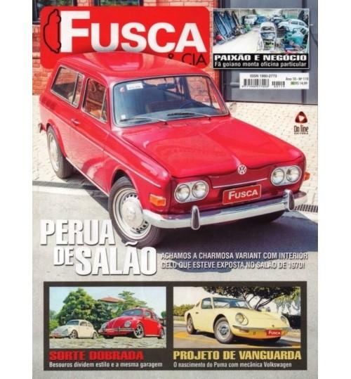 Revista Fusca & Cia N° 119 Perua de Salão