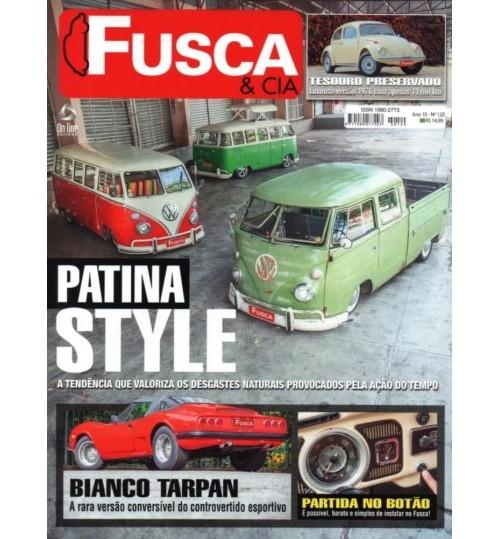 Revista Fusca & Cia N°120 Patina Style