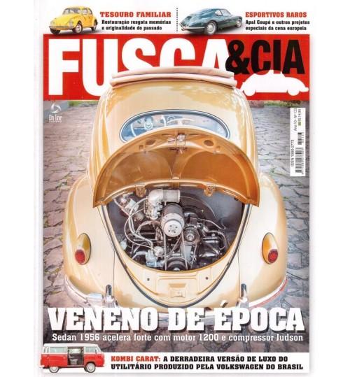 Revista Fusca & Cia N° 123 Veneno de Época