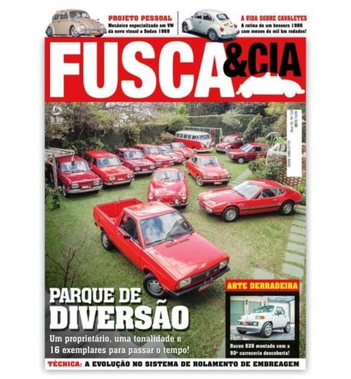 Revista Fusca & Cia N° 124 Parque de Diversão
