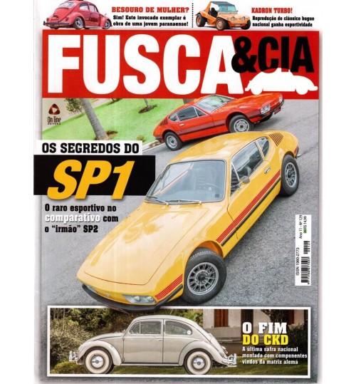 Revista Fusca & Cia N° 129 Os Segredos dos SP1