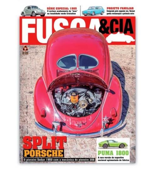 Revista Fusca & Cia N° 135 Split Porsche
