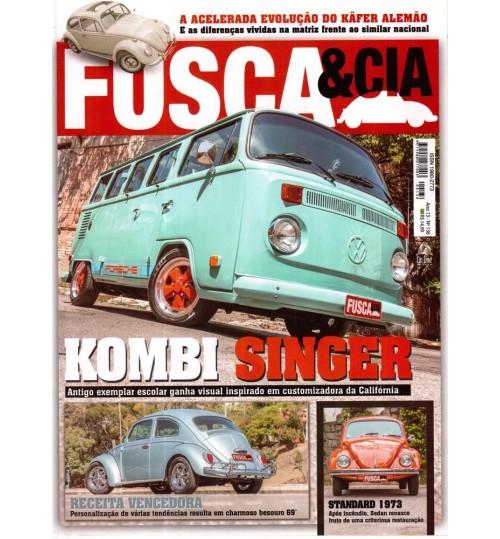 Revista Fusca & Cia N° 136 Kombi Singer