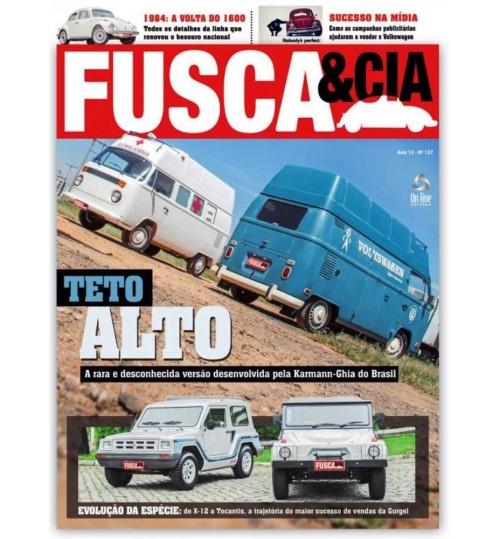 Revista Fusca & Cia N° 137 Kombi Teto Alto