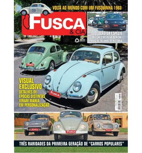 Revista Fusca & Cia N° 140 Visual Exclusivo