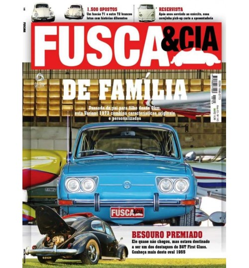 Revista Fusca & Cia N° 143 De família