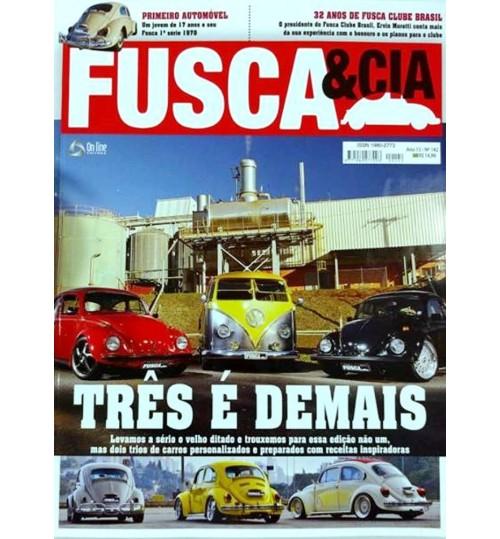 Revista Fusca & Cia N° 142 Três é Demais