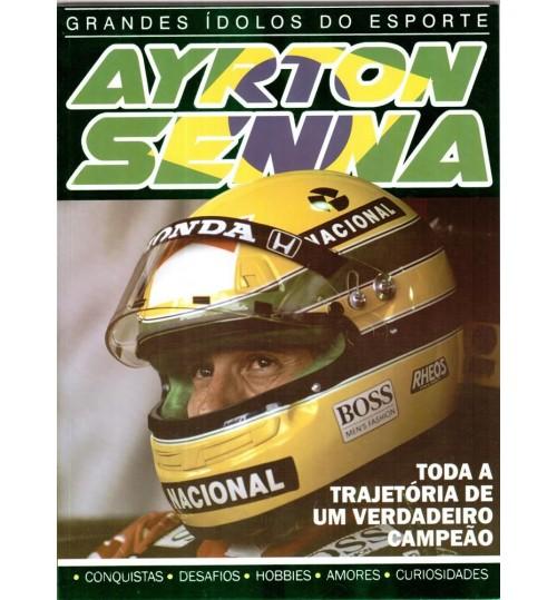 Revista Grandes Ídolos do Esporte Ayrton Senna