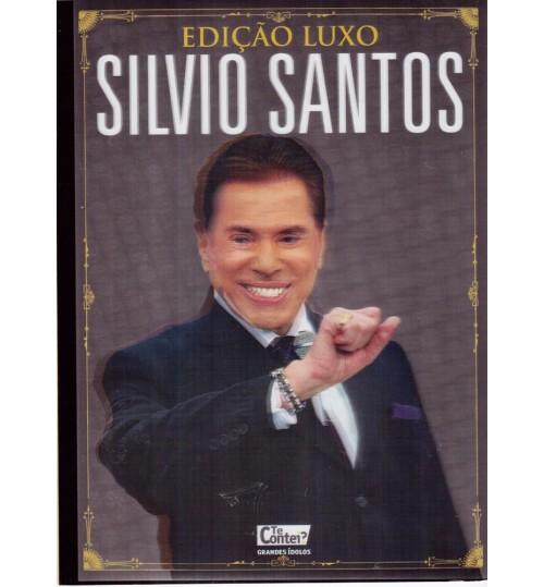 Revista Grandes Ídolos Edição Luxo - Silvio Santos