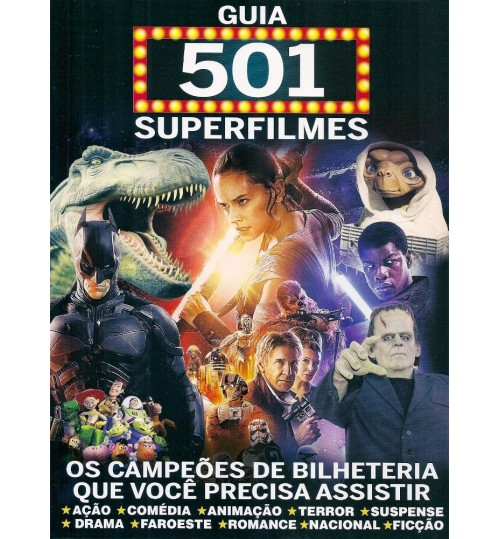 Revista Guia 501 Superfilmes
