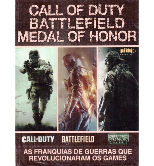 Revista Guia Call of Duty, Battlefield, Medal of Honor - As Franquias de Guerras que Revolucionaram os Games