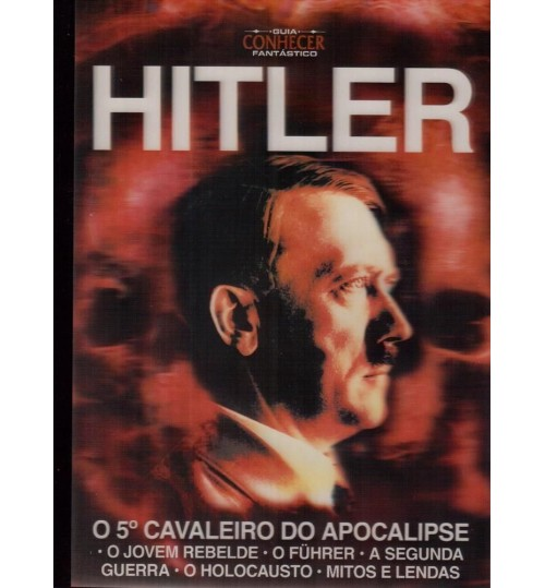 Revista Guia Conhecer Fantástico Hitler O 5° Cavaleiro do Apocalipse