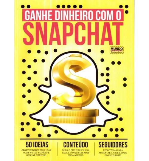 Revista Guia Ganhe Dinheiro com o Snapchat
