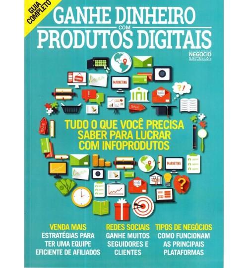 Revista Guia Ganhe Dinheiro Produtos Digitais