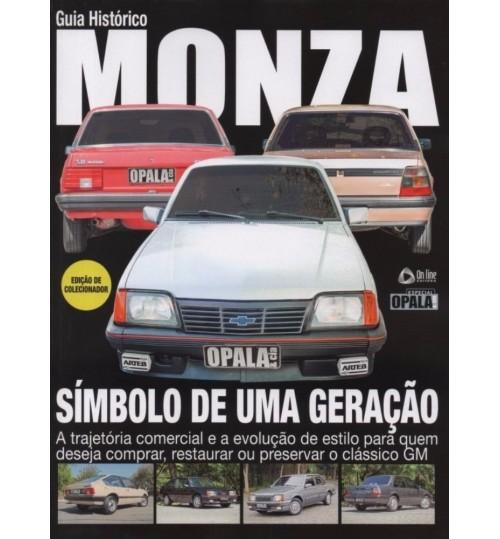 Revista Guia Histórico Monza Simbolo de uma Geração