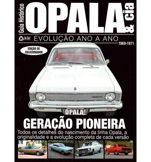 Revista Guia Histórico Opala & Cia Geração Pioneira 1969 - 1971