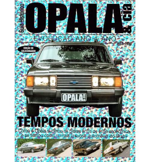 Revista Guia Histórico Opala & Cia Tempos Modernos 1985 - 1989