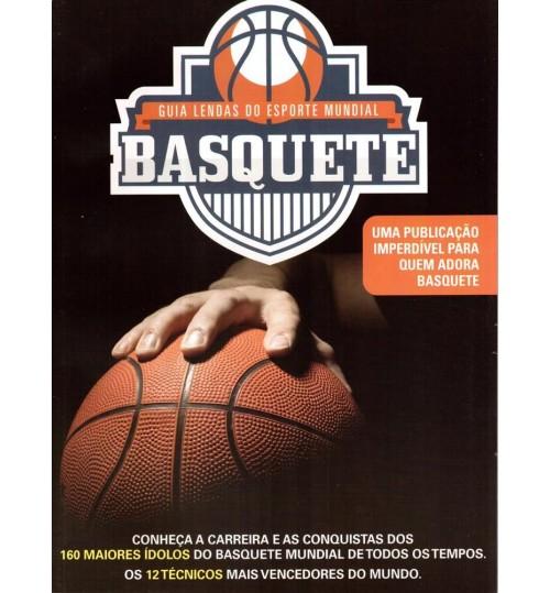 Revista Guia Lendas do Esporte Mundial Basquete