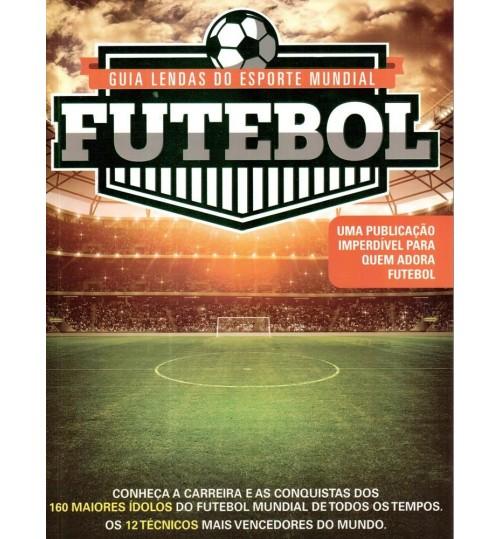 Revista Guia Lendas do Esporte Mundial Futebol