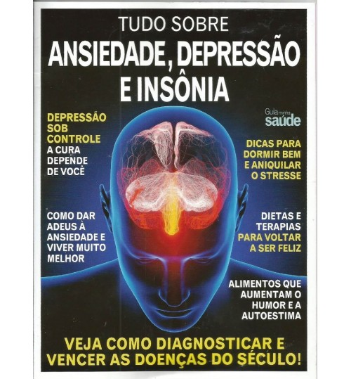 Revista Guia Tudo sobre Ansiedade, Depressão e Insônia