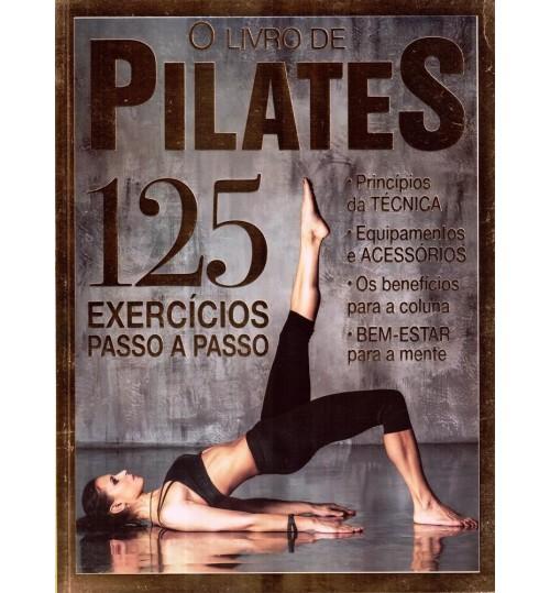 Revista O Livro de Pilates - 125 Exercícios passo a passo
