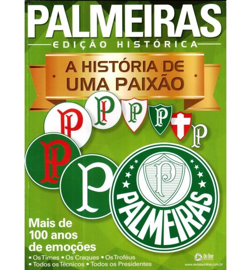 Revista Palmeiras a História de uma Paixão