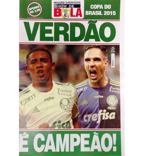 Revista Pôster Verdão é Campeão Copa do Brasil 2015